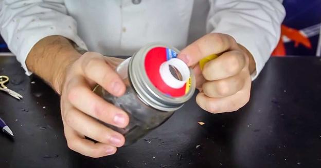 DIY Mason Jar Pour Spout