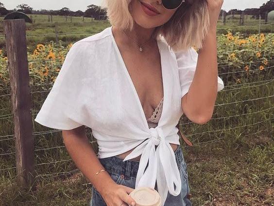 Blusa com amarração; veja como usar