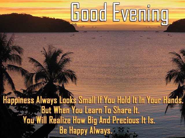 Good evening quote 2