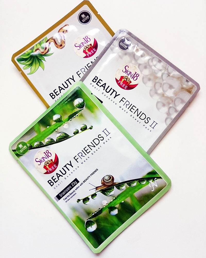 Beauty Friends Sheet Masks