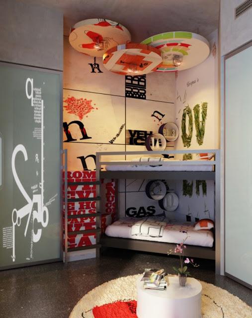 Dormitorios para jovenes varones for Dormitorio para adolescentes