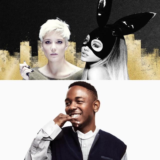 Ariana Grande, Halsey y Kendrick Lamar se presentarán en los MTV Movie Awards 2016