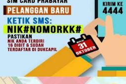 Cara Registrasi Ulang Kartu Prabayar Seperti Telkomsel, Indosat, XL, Smartfren, Tri dengan Mudah dan Cepat