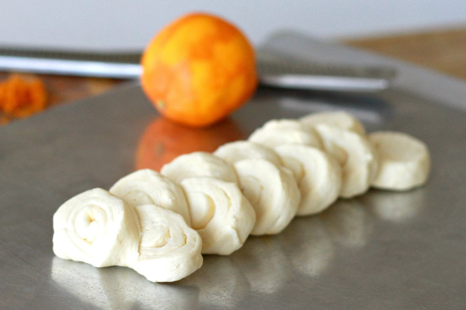 ... Grateful Prayer and a Thankful Heart: Orange Honey Pull-Apart Rolls