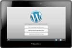WordPress kini Tersedia untuk Blackberry Playbook