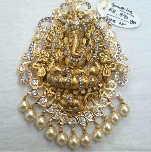 Ramparivar and Vishnu Ganesh Pendants