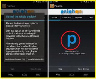 Internet Gratis Di HP Android Terbaru Dengan Pshiphone
