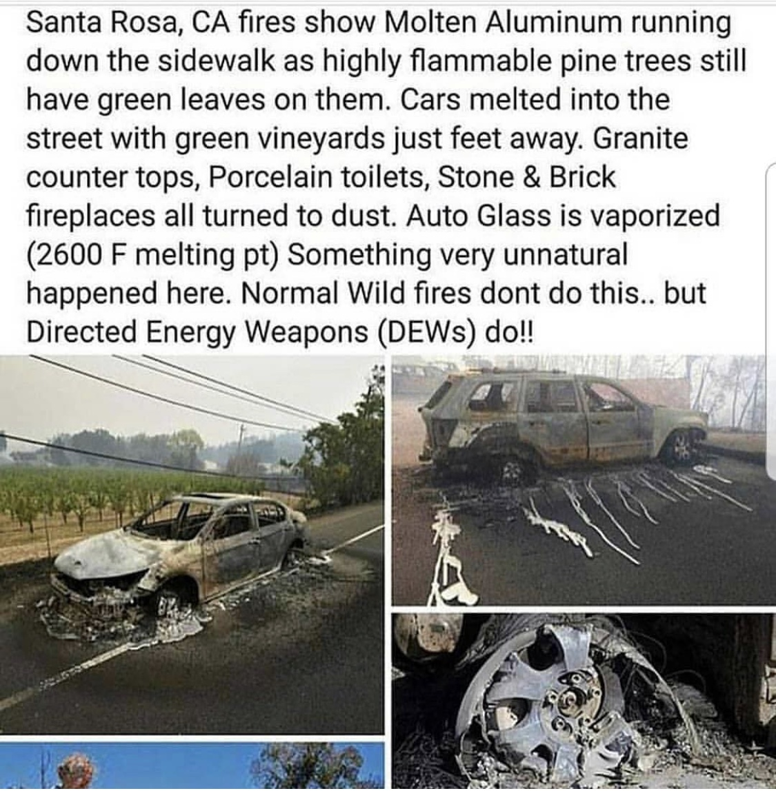 Were The Devastating California Wildfires Caused By Directed