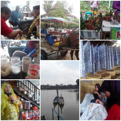 Workshop Kerak Telor & Bir Pletok, Delman, Danau Setu Babakan, Buah Buni, & Pembuatan Batik Betawi