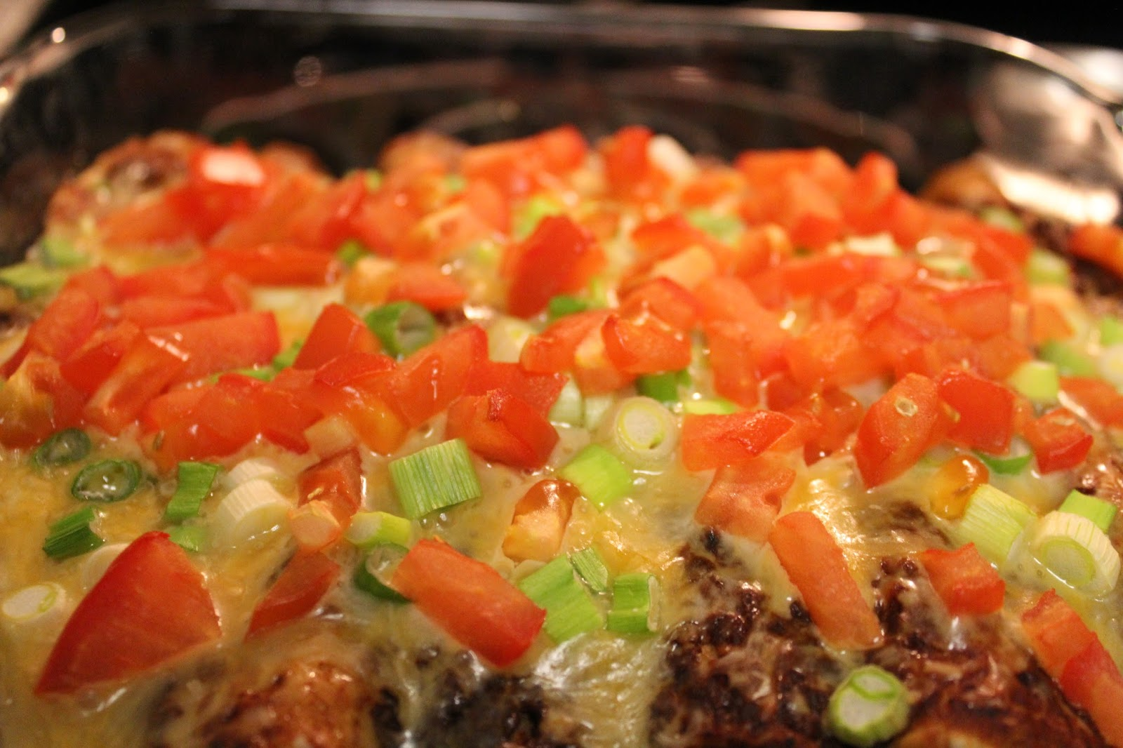 Crockpot sweet potato and black bean enchiladas