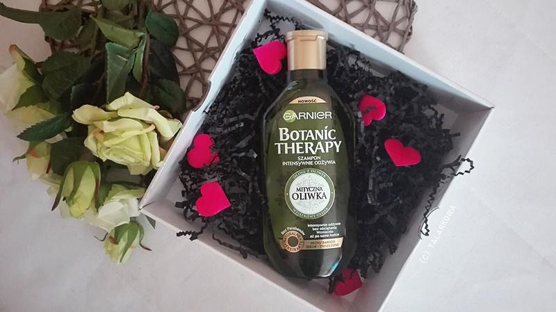 szampon, szampon do włosów, garnier, garnier botanic therapy, mityczna oliwka, pielęgnacja włosów