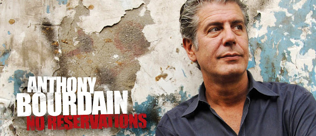 Locandina dello show No Reservations with Anthony Bourdain
