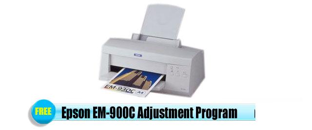 Epson  EM-900C Adjustment Program