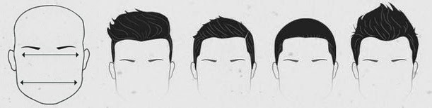 SQUARE FACE SHAPE HAIRCUT