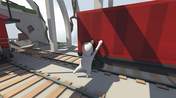 Human Fall Flat Holiday PC Full Version Screenshot 1