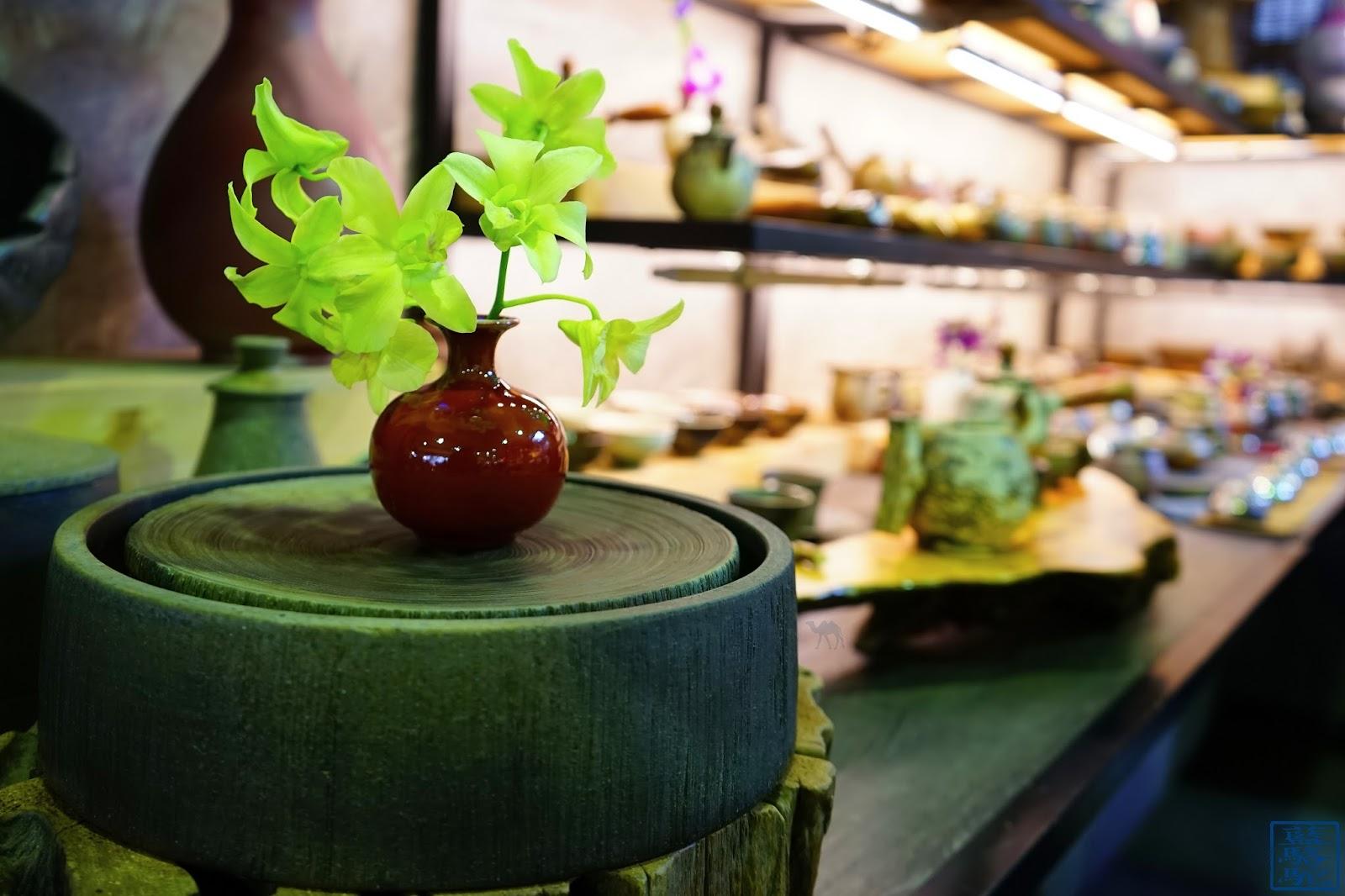 Le Chameau Bleu - Taipei - Taiwan - Marché aux fleurs - Ikebana