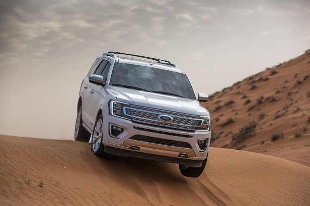Ford Expedition introduces new Terrain Management System with Sand Mode