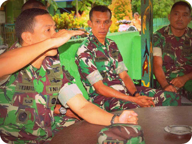 Christian Tehuteru Beri Pembekalan 29 Babinsa Koramil Dobo