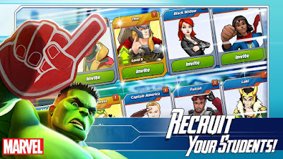 Download Marvel Avengers Academy Mod APK v1.10.0 Update [Free Shopping]