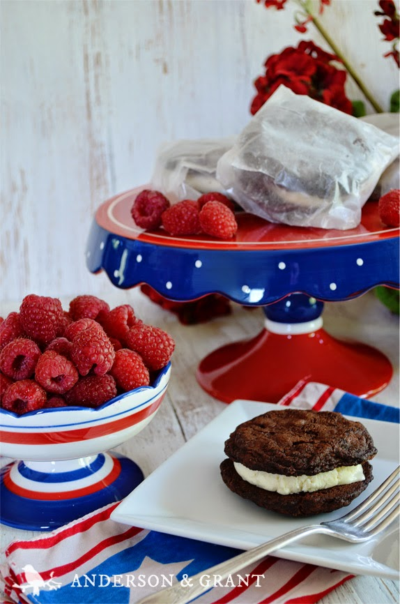 A few special touches let your guests know you've taken the time to prepare a great party for them....Visit www.andersonandgrant.com for Fourth of July entertaining ideas.