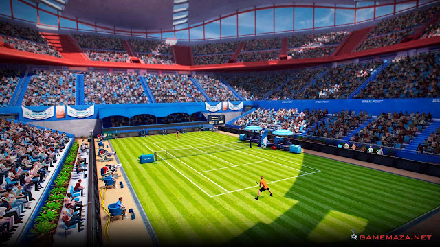 Tennis World Tour v1.13 Gameplay Screenshot 1