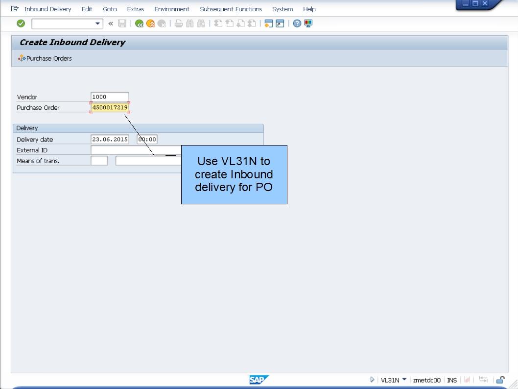 青蛙SAP分享 Learning & Examination: HU MM-WM integration for PO