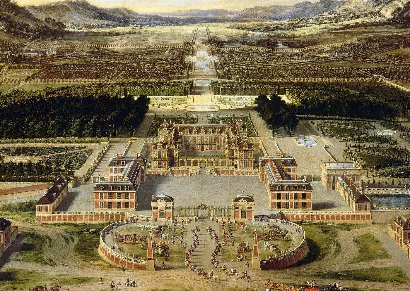 Hortibus parcs et jardins d 39 ile de france le chateau de - Jardin du chateau de versaille ...