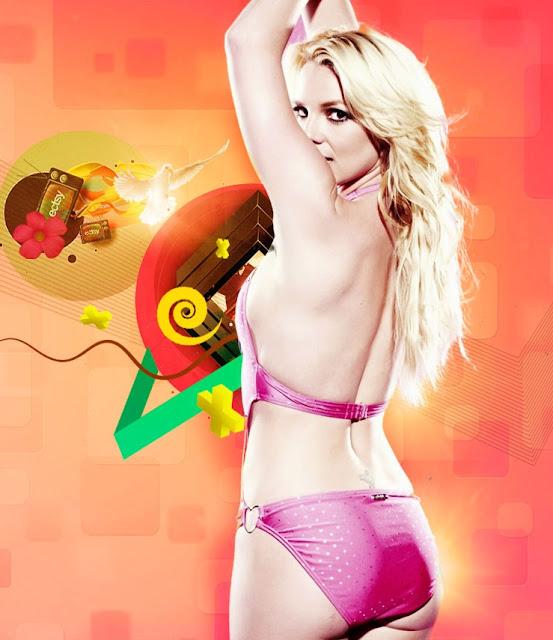 wallpaper Bikini britney