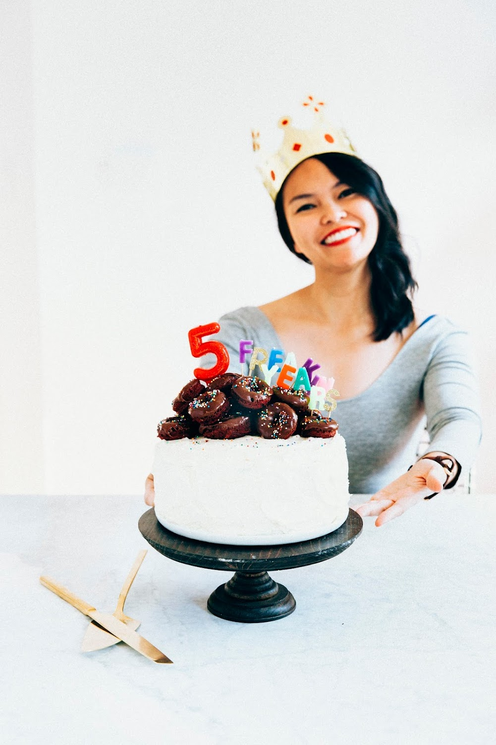 the best red velvet cake + five years of blogging