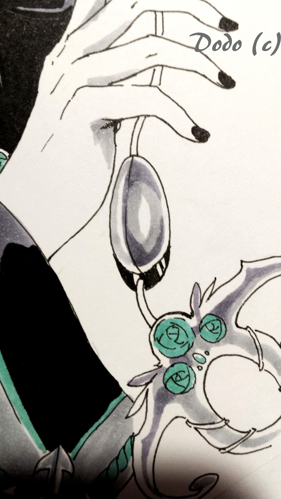 Copic italia: tutorial: 'black and white' parte 2   catturare l ...