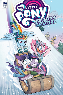 My Little Pony: Holiday Special 2017 Revealed—Synposis, Artists, and Writer!