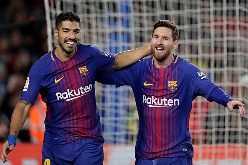 Luis Suarez và Leo Messi sẽ mặc đôi áo đặc biệt