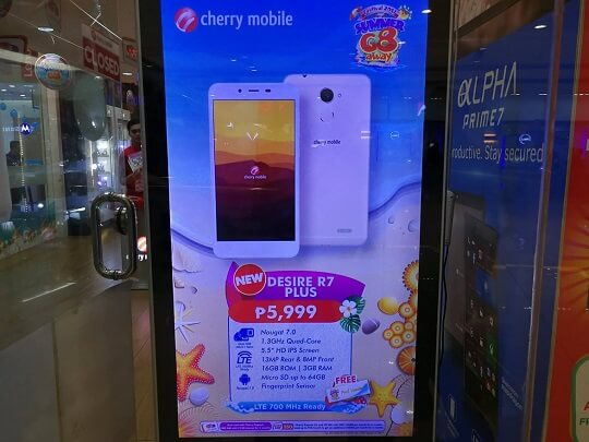 Cherry Mobile Desire R7 Plus; Quad Core, 3GB RAM, LTE for Php5,999