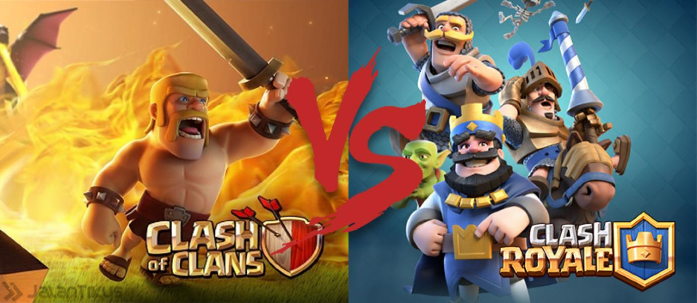 Clash Royale Vs Clash Of Clans Clash Id Clash Of Clans Strategies