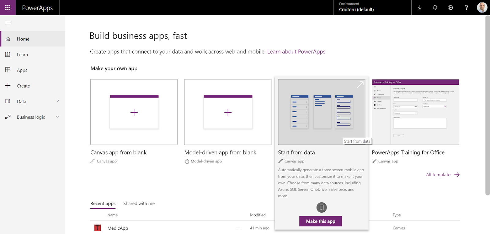 Staying Healthy with Flow and PowerApps ~ Agile Office 365