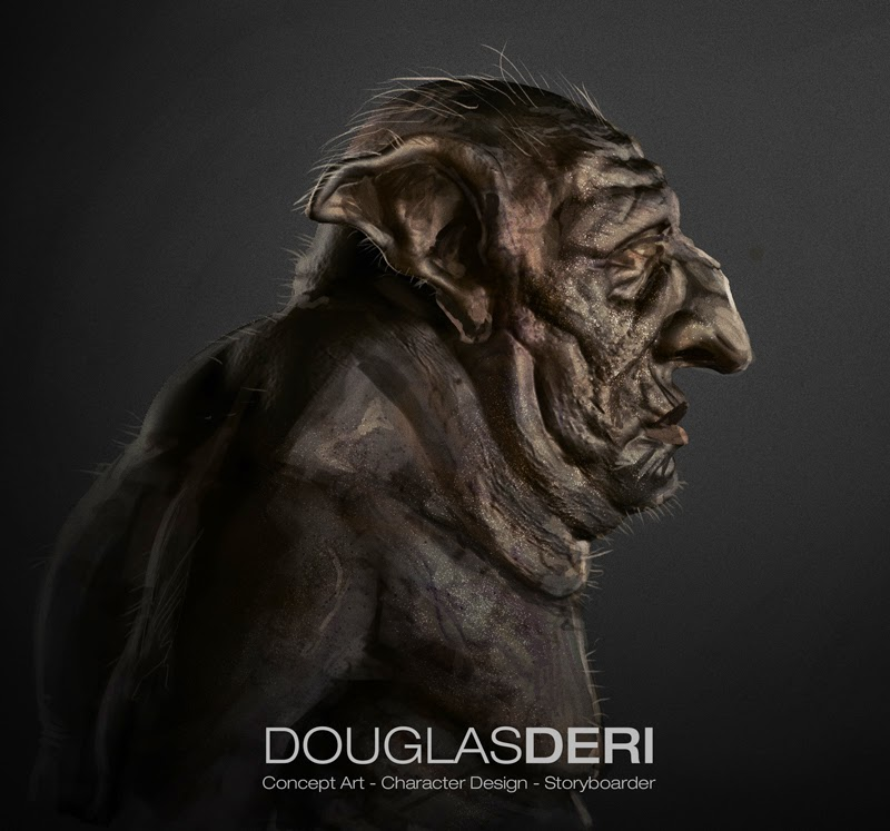 douglas deri, goblin, creaturedesign, characterdesign, illustrations, conceptart, how to paint, photoshop brushes, brushes, how to draw, como desenhar,