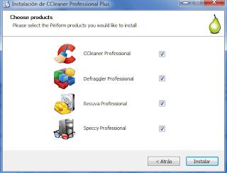CCleaner 5.22.5724 Professional Plus (Español)(Suite de Piriform 4 en 1)
