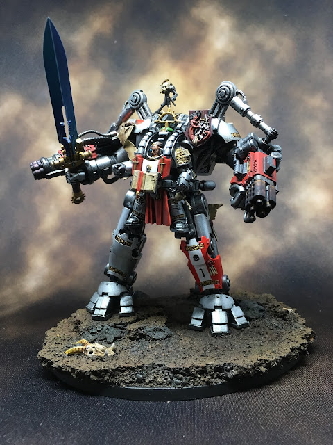 WIP Grand Master in Nemesis Dreadknight Left Profile