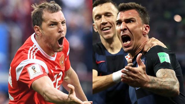 Prediksi Rusia vs Kroasia, Swedia vs Inggris, Perempat Final Piala Dunia 2018