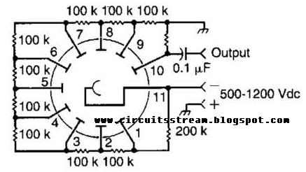 build a photomultiplier circuit diagram