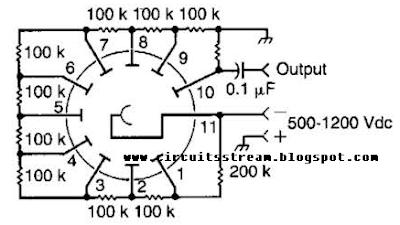 build a photomultiplier circuit diagram