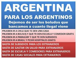 Argentina para los argentinos la discriminación a flor de piel
