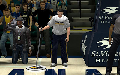 NBA 2K13 Indiana Pacers - Janitor & Cameraman Patch