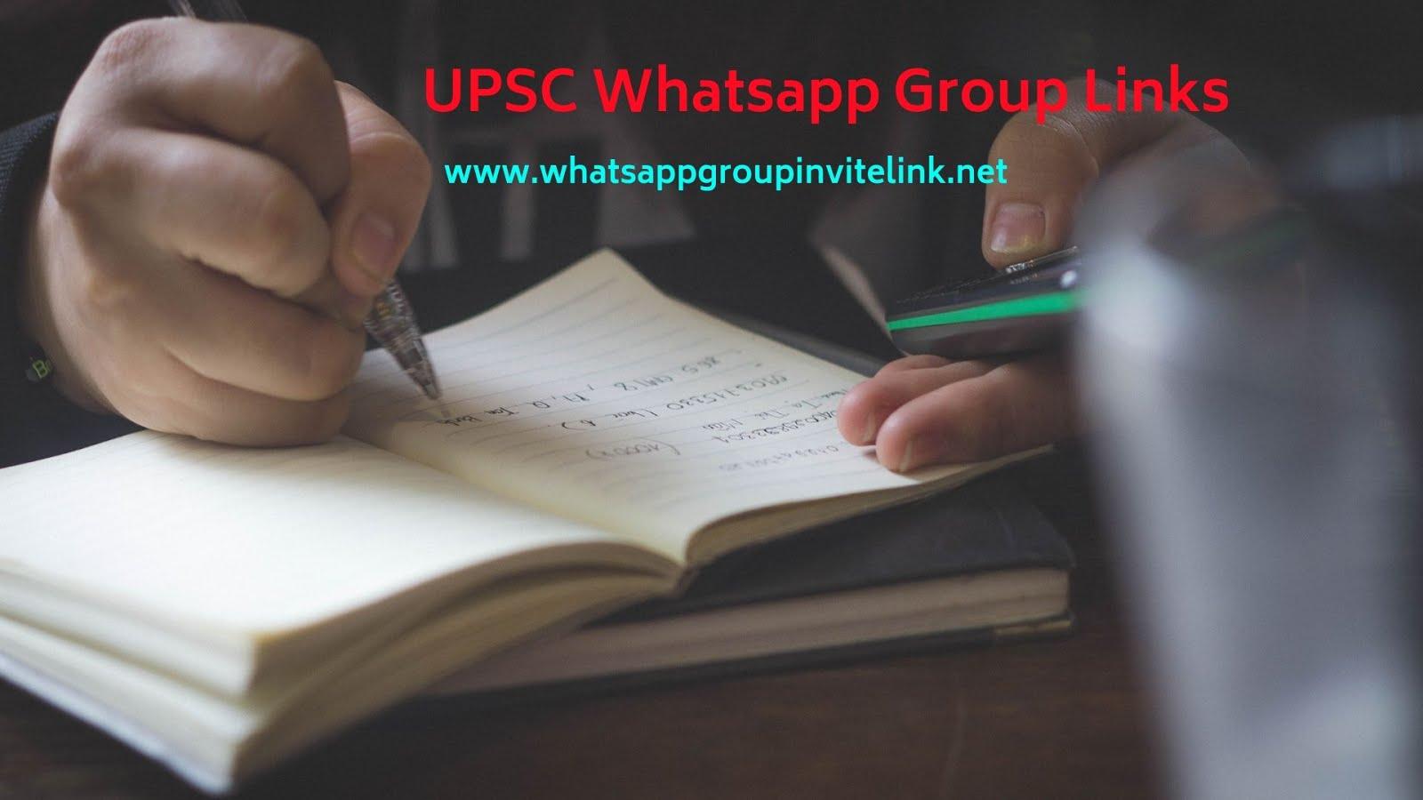 Whatsapp Group Invite Links: UPSC Whatsapp Group Links