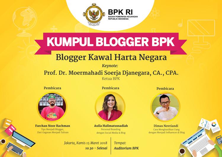 Kumpul Blogger dan Penganugerahan Pemenang Lomba BPK Kawal Harta Negara