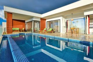 özel havuzlu kiralık villa