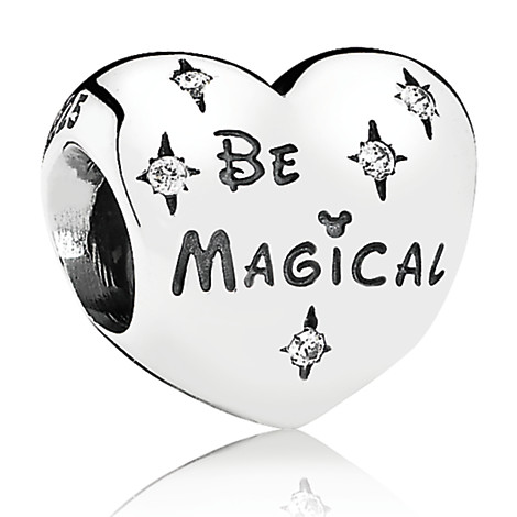 "Pandora ""Be Magical"" Heart Charm"