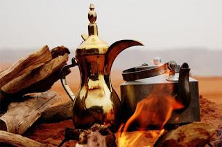 Kavos vyrimas ant laužo