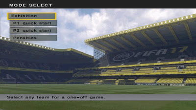 PES 6 FIFA 17 Graphic Menu & Scoreboard by PatchRevo