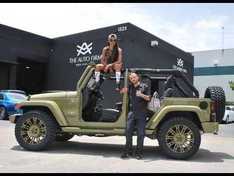 Teyana Taylor's 2013 Jeep Wrangler Customized by Auto Firm